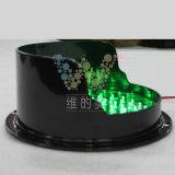 Lampe personnalisée de circulation de 200mm DEL avec le module de circulation de pare-soleil