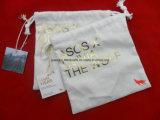 Bolsa de encargo de la joyería del lazo del algodón