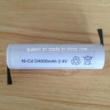 Batterie rechargeable NiCd D4000 2.4V 4000mAh