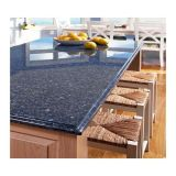 Blaues Pearl Granite Slab für Countertop, Dining Table