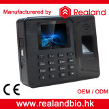 Software를 가진 Realand Fingerprint와 ID Card Time Attendance Systems