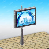 Doppio lato LED che fa pubblicità alla struttura esterna del tabellone per le affissioni dello schermo