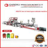 Слои производственной линии пластичной машины ABS/PC 2 или 3 штрангпресса для багажа