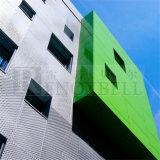 Panneaux de panneau de façade/en aluminium en aluminium merveilleux de revêtement