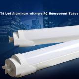 安い工場価格のセリウムのRoHSの証明110 V 220V 120のビーム角18W LEDの管T8ランプ