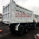 30ton 닛산 트럭 (12503cc 엔진)의 사용된 6X4 일본 덤프 트럭