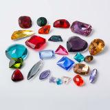 Point Back Rivoli Round Crystal Acessórios para jóias para vestidos