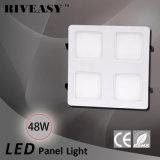 luz clara da grade do dispositivo elétrico claro SMD de painel do diodo emissor de luz 48W com luzes do diodo emissor de luz do Ce e do RoHS 2*2