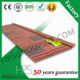 matériaux enduits de toit de tuile de toit en métal de pierre colorée élégante de 0.55mm