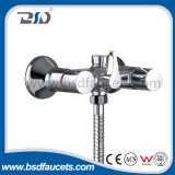 Doppeltes Handle Wall Mounted Bath Shower Mixer Faucet mit Handset