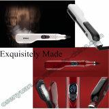 Escova endireitada do projeto cabelo elétrico novo