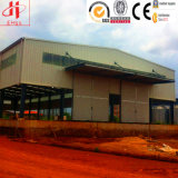 Fertiggebäude fabrizierten industrieller Entwurfs-Stahlkonstruktion-Lager vor