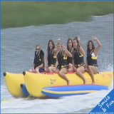 Wasser-Park-Spiel-Gebrauch Belüftung-materielles aufblasbares Bananen-Boot