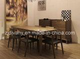 [شنس ستل] خشبيّة طاولة [دين رووم تبل] ([إ-25])