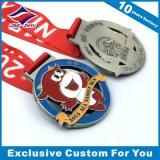 Taekwondo 메달 합금 주문 로고 리본 메달