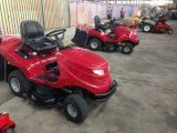 """42 """"芝生のトラクター、20HPエンジンを搭載する芝刈り機の乗車"""