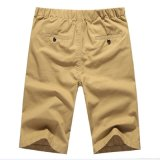 Piedino diritto di stirata del cotone degli uomini non che riveste di ferro gli Shorts casuali