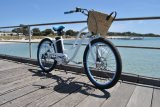 中国のSaleのための36V Women Electric Beach Cruiser Bicycle