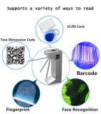 Lettore semiautomatico bidirezionale del cancello delle braccia del cancello girevole tre del treppiedi del lettore di schede di RFID
