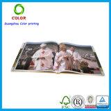 Livre professionnel de couleur publiant en Chine