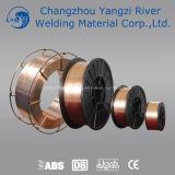Alambre G3sil baja aleación de carbono de soldadura de cobre