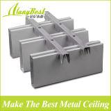 Decoración de techo de aluminio restaurante deflector