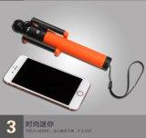 Il bastone di Selfie collegato connette il modello di vendita caldo D12s della muffa privata di Monopod