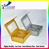 Handgemachte Pappmagnetischer gedruckter Kästchen-Tür-geöffneter Geschenk-Kasten