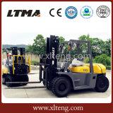 Ltma 새로운 드는 장비 6 톤 디젤 포크리프트