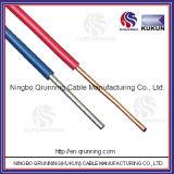 Cu/PVC sólidos escogen el alambre de la base
