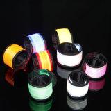 Bracelets pulsants de claque de la sûreté LED de nuit