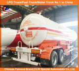 モンゴルのための2車軸40000L LPG Tank Trailer 20tons Liquid Gas Trailer 20t LPG Transport Trailer