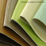 Cuoio molle di cuoio 100% della tappezzeria dell'unità di elaborazione di decorativo (KC-W013)