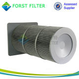 Elemento de filtro Washable industrial do ar de Forst