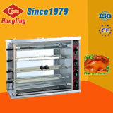 3-Rod Gas Chicken Rotisserie Machine para venda