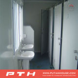 Behälter-allgemeine Toiletten-Dusche-Raum-Projekt in Gabun
