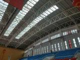 활 모양으로 한 구부려진 지붕 Truss 설계 제도