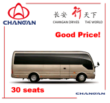 24-30 SitzChangan Bus Midibus Toyota Küstenmotorschiff Rhd erhältlich
