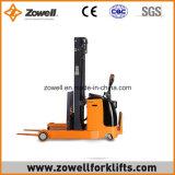 Apilador eléctrico del alcance con 2 altura de elevación de la capacidad de carga de la tonelada 4m