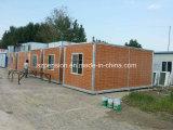 Низкая стоимость складывая полуфабрикат a-Level пожаробезопасную передвижную/Prefab дом контейнера дома для горячего сбывания