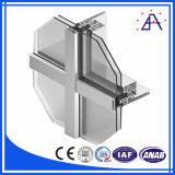 Hot Sale Factory Price Revêtement en poudre Aluminium / Aluminium Curtain Wall Profile