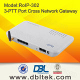 RoIP-302mの十字Network Roip Gateway/Intercom System (IP上のRadio) /Portable Radio