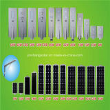 ISO9001를 가진 1개의 태양 LED 가로등, 승인되는 세륨에서 보장 5 년 50W/60W 전부