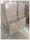 Precio más bajo china G687 Fabricante granito (melocotón de color rojo)