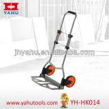 Trole plástico barato do jardim da roda do caminhão de mão dos fornecedores do caminhão de pálete da mão de Yahu de China (YH-HK014)