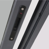 Kz008 Powder Coated Aluminum Window con Latch Lock, Aluminum Sliding Window