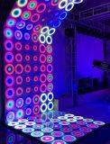 Octrooi 61*61cm van de Partij van het huwelijk Licht Dynamisch RGB Waterdichte LEIDEN van het Effect Dance Floor