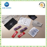 Direct het Fabriek Gemaakte Goedkope Geweven Etiket van de Douane Overhemd (JP-CL127)