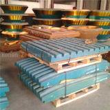 Soem-Zerkleinerungsmaschine zerteilt Kiefer-Platte für Kiefer-Zerkleinerungsmaschine