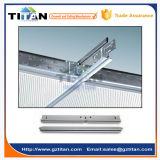 Ángulo de pared galvanizado cinc de la red del techo suspendido T de la alta calidad